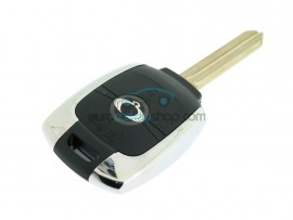 Ssangyong Key Remote Case - 3 Buttons - with metal edge - key blade SSY2 - after market product