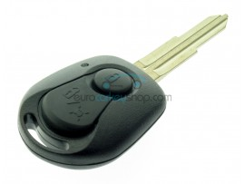 Ssangyong 2 Button Key Fob Remote Case - key blade SSY3 - after market product