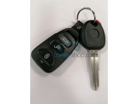 Ssangyong 2 Button Key - 433 Mhz - key blade SSY3 - after market product
