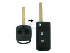 Subaru 2 Button Remote Flip Key Fob Case for item number SUB104 - after market product