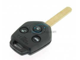 Subaru 3 button Remote Key - 433 Mhz - 4D62 Chip - Key Blade DAT117 - after market product