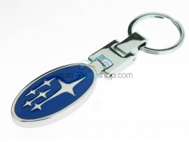 Subaru Keyring - luxury version - with logo on both sides - after market product