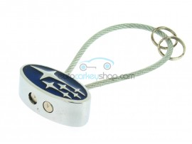 Subaru Keyring - with metal cord - after market product
