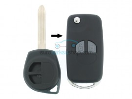 Suzuki 2 Button Remote Flip Key Fob Case for item number SUZ106 - after market product