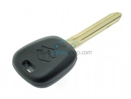 Suzuki car key including 4C transponder chip - Key blade TOY43 - after market product