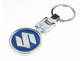 Suzuki Keyring - Luxery version  - with logo on both sides - after market product