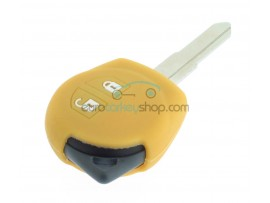 Key Cover Suzuki - 2 button- material soft rubber- color yellow - for articlenr SUZ103 - SUZ105 - SUZ106 - after market product