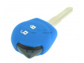 Key case Suzuki - 2 button- material soft rubber- color dark blue - for articlenr SUZ103 - SUZ105 - SUZ106 - after market product