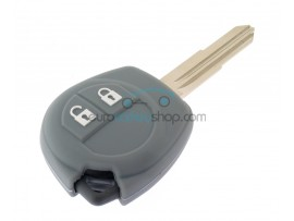 Key Cover Suzuki - 2 button- material soft rubber- color grey - for articlenr SUZ103 - SUZ105 - SUZ106 - after market product