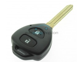 Toyota Key - 2 buttons - 433 Mhz - ID6E 80 bit G-chip - Hilux - key blade TOY43 - OEM Product