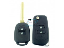 Toyota 2 Button Remote Flip Key Fob Case for item number TOY122 - after market product