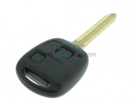 Toyota key - 2 buttons - 434 Mhz - 4C transponder chip - keyblade TOY43 - ASK MODEL - after market product