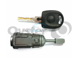 Door lock for Volkswagen Golf MK4 RH - keyblad HU66 - OEM product