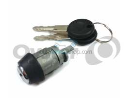 Ignition starters switch for Volkswagen Seat - Golf II - Passat - Polo II - With 2 keys - Keyblade HU49 - OEM product