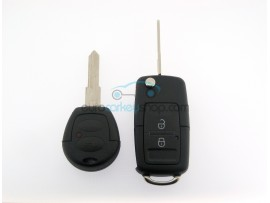 Skoda conversion kit to flip key for item number SKO106 - Key blade HU49 - after market product