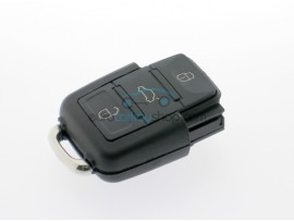 Remote Control Part for Volkswagen - Seat- Skoda - 3 Button Flip Remote Key - 433 Mhz - 1J0959753 DA - AH - after market product
