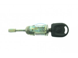 Volkswagen complete door barrel Lock set Left with 1 key - Key blade HU66 - after market product