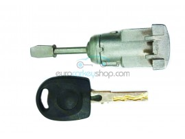 Door lock with keys for Volkswagen Passat V - key blade HU66 - OEM product