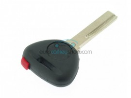 Volvo car key including ID44 transponder - key blade HU56R - after market product