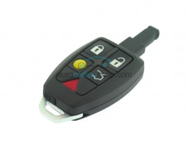 Smartkey case - 5 buttons - loose buttons - with emergency key and logo - after market product